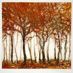 Louise Jannetta - A blaze of autumn. Webbs Fine Art