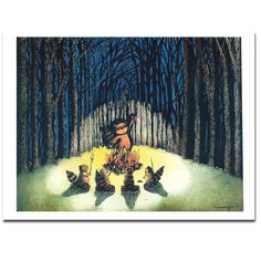 Shannon Comins Limited Edition Print Ghost Stories on Etsy by ShannonKComins