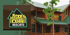 Hidden Mountain Resorts in Sevierville, TN Great cabins & beautiful mountain scenery!