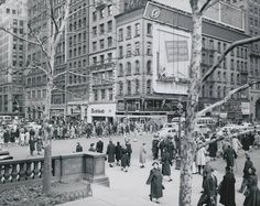 5th Avenue and 42nd Street (c 1940s) -photographer unknown