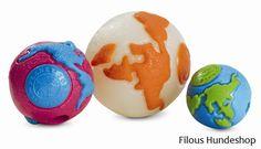 """Planet Dog Orbee-Tuff Orbee Ball - Als """"weltbester Hundeball"""" wurde er von Experten der Hunde- und Heimtierbranche bewertet. Einfach unwiderstehlich für Hunde. Hergestellt in den USA aus weichem, widerstandsfähigem Material. Der Orbee-Tuff Orbee Ball ist schwimmfähig, ungiftig, abwaschbar, mit Minzgeruch und recyclebar.  Jedes Planet Dog Produkt wird auf einer Bissfestigkeits-Skala bewertet. Der Orbee-Tuff Orbee Ball hat eine Bissfestigkeit von 5 aus 5 Punkten.Für extrem Kaufreudige…"""