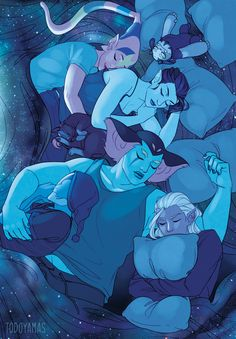 """todoyamas:"""" this is olddd but wow i'm so glad that everyone in this squad is happy alive and well 🚀🌌☄"""" Voltron Klance, Voltron Comics, Voltron Fanart, Form Voltron, Voltron Ships, Shiro Voltron, Voltron Memes, Prince Lotor, Allura"""