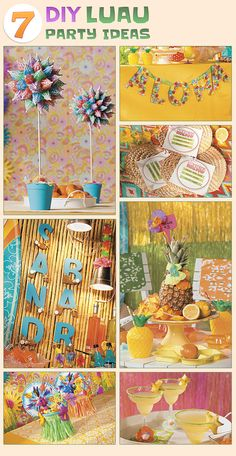 National Luau Month Project Ideas from Oriental Trading Co.