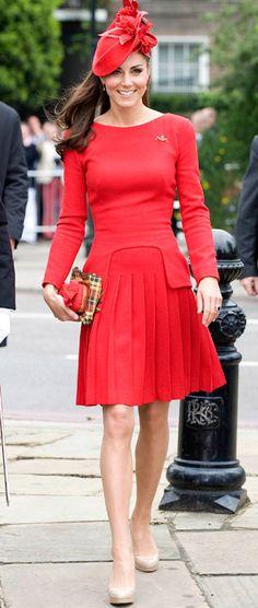 Kate Middleton in Alexander McQueen.  Buy McQueen from Champagne & Lemonade: http://champagneandlemonade.com/designers/alexander-mcqueen.html