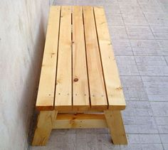simple sitting bench  (2)