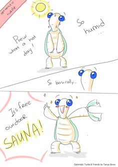 Optimistic Turtle on weather by solray-chan on DeviantArt
