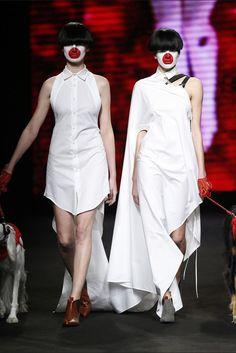 Brain & Beast. Colección otoño-invierno 2015/2016. 080 Barcelona 080 Barcelona, Barcelona Fashion, Vogue, Deconstruction, Peplum Dress, Style Inspiration, Beast, Inspire, Dresses