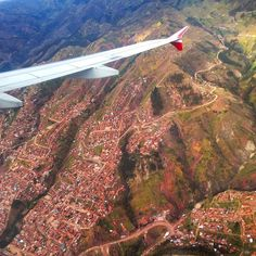 Flying high over the beautiful city of Cusco, Peru taking in the unique mountain views. #wanderlustcontest @honda @natgeotravel