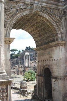 Rome Triumphal arch of Emperor Constantine