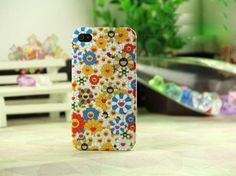 Murakami Cosmic Blossom Collection Hard Case for iphone 4g 4s