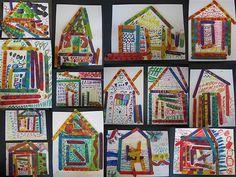 ndebele aftrican houses