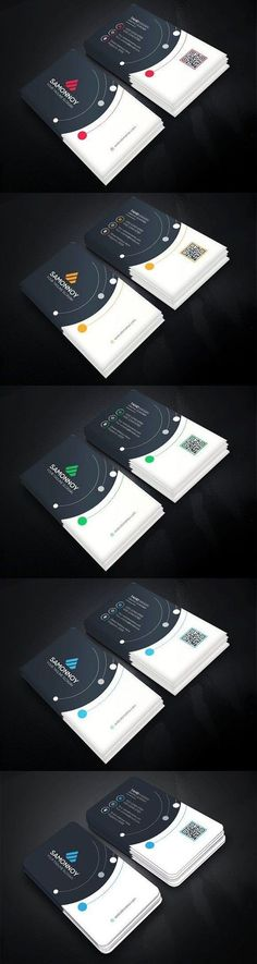 Clean conception of Business Card for your Business. Company Business Cards, Square Business Cards, Business Cards Layout, Business Card Psd, Cool Business Cards, Business Card Design, Creative Business, Stationery Design, Branding Design