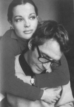 Romy Schneider with Husband, Harry Meyen.