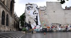 Jef Aerosol in France, photo by Juliiea (http://globalstreetart.com/juliiea).