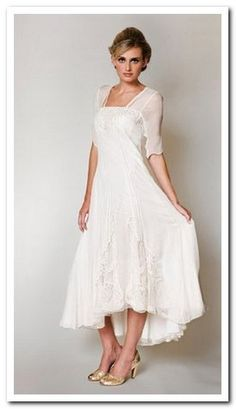 second wedding dresses for older brides - Google Search - This is my first choice for my beach wedding.