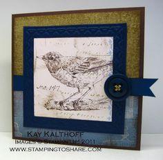 Stamping to Share: 3/8 Stampin' Up! Botanical Gazette  Nature Walk