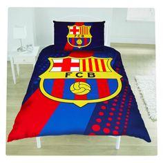 barcelona single duvet set FC Barcelona Official Merchandise Available at www.itsmatchday.com