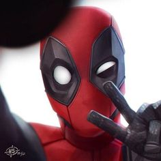 Image about Marvel in Deadpool by darkparadise Art Deadpool, Deadpool Film, Deadpool Painting, Deadpool Quotes, Deadpool Tattoo, Deadpool Stuff, Deadpool Costume, Deadpool Funny, Deadpool Wallpaper
