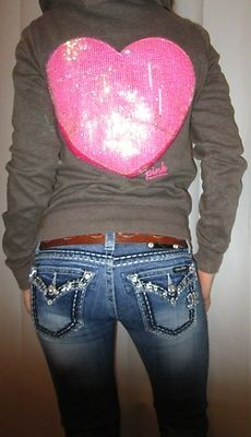 such a kalista outfit! the victoria secret jacket with the miss me jeans!