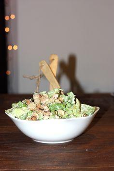 Ceasar Salat - einfach, schnell und unglaublich lecker! Musst du probiert haben! Rezept auf dem Blog!