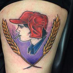 Catcher and the Rye tattoo