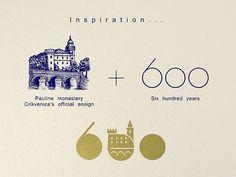 600th Anniversary Logo on Behance