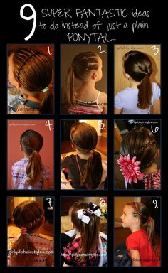 9 Ideas to Dress up Your Ponytail