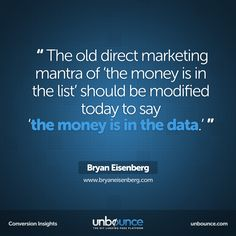 This week's #conversion insight from Bryan Eisenberg. He knows what he's talking about. Read more on his website: http://bryaneisenberg.com/