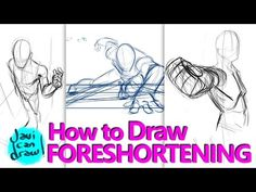 HOW TO DRAW FORESHORTENING - A Process Tutorial - YouTube