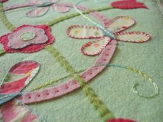 Wool Felt Patterns | In my more recent designs I have started mixing woolfelt with ...