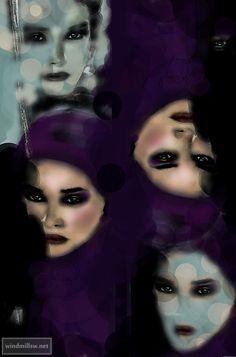 Russian woman Illusions, My Photos, Photo Editing, Halloween Face Makeup, Fantasy, Woman, My Style, Fashion, Editing Photos