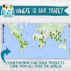 #DidYouKnow that #FairTrade products come from 70 different countries?! Check out our #Global Reach #Map and meet these inspirational farmers & workers! http://fairtrd.us/1cj00hK #BeFair #FairTradeMonth