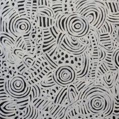Betty Mbitjana Aboriginal Art $490 60cmx60cm