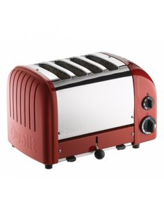 Dualit Vario 4 Slice Toaster Red - 40353 - Dualit - Brands | Homeware Boutique