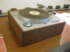 Rek-o-kut b-12gh turntable vintage stereo aluminum wood