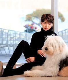 Kim Woo Bin and Pororo Kim Woo Bin, Asian Actors, Korean Actresses, Actors & Actresses, Uncontrollably Fond Kdrama, K Drama, Handsome Korean Actors, Korean Drama Movies, Kdrama Actors