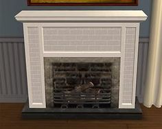 Mod The Sims - Recolour of CTNutmegger's Colonial Style Fireplace