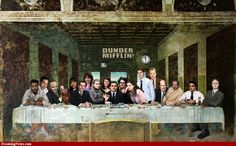 The Office Last Supper