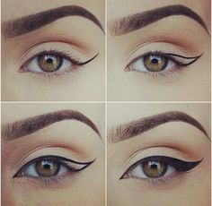 How to create a winged eyeliner                                                                                                                                                                                 More