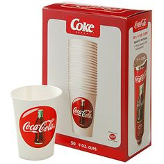 Coca-Cola Coke Cups 9 oz 50 pk Refill for CCS W11662 Review Buy Now