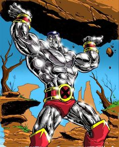 "Colossus Marvel Comics 1st appearance: Giant-Size X-Men #1 (May 1975) ALTER EGO? TEAM AFFILIATIONS: X-Men-Defenders-Excalibur-Acolytes-Phoenix Five-X-Forxe  SPECIES: Human Mutant  ABILITIES: Ability 2 transform his body int2""organic steel"" granting superhuman/strength/stamina/durability-Trained acrobat & swordsman (As Juggernaut): Additional superhuman strength & resistance 2 injury-Unstoppable momentum"