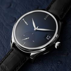 Introducing the H. Moser & Cie. Endeavour Perpetual Calendar Purity, Inspired by Swiss Cheese Watch