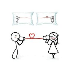 Mark my words: future hubby and I WILL have these pillow cases.