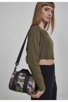 Urban Classics Handbag Women, Navy / Taupe / Green / White, One Size Size , Camouflage, Hermes, Classic Handbags, Elegant Logo, Urban Classics, Christian Lacroix, Manga, Minion, Gym Bag