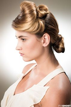 Allyssa Rogers/model, Samantha Gribble/hair, Rodger Ruzanka/photog