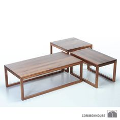 Commonhouse Frame Table let you define and redefine their purpose as your needs and tastes change. #commonhouse #coffeetable #sidetable #cocktailtable #shawnsowers Available at loftmodern.com  http://www.loftmodern.com/products/commonhouse-frame-table