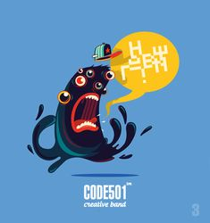 NEW DAY - NEW CHARACTER . CODE501   Today - 17 characte by CODE501 - CREATIVE BAND !, via Behance