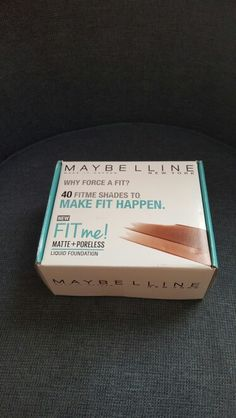 Received my Maybelline Voxbox from Influenster