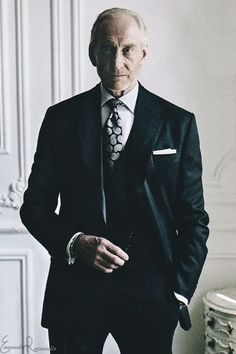 suit makes the man — Charles Dance for The Rake Magazine Charles Dance, Artists And Models, Gentleman Style, The Man, Portrait Photography, Personal Style, Suit Jacket, Menswear, Vogue