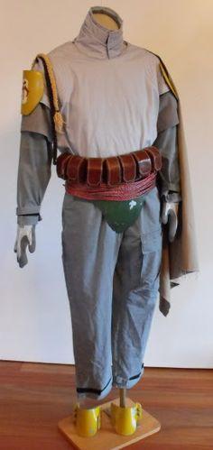 Boba Fett Costume & Props